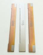 Pilové listy na řezání kovů a plastů, zuby jsou povlakovány  TiCN.