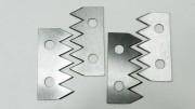 Střihací průmyslové nože
