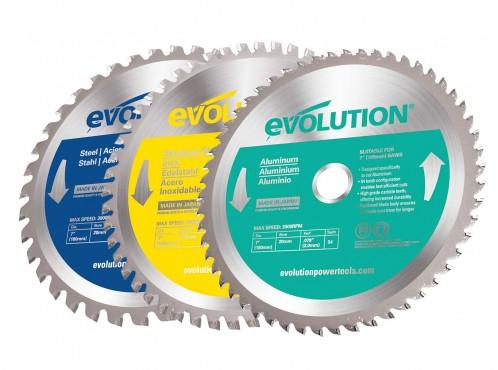 Pilové kotouče Evolution steel