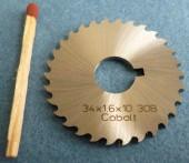 HSS Circular Saw Blade 34x1,6x10 30B-2