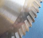 Detail segmentů na segmentovém kotouči