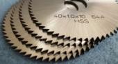Slitting Blades 40x1,0x10 64A-3